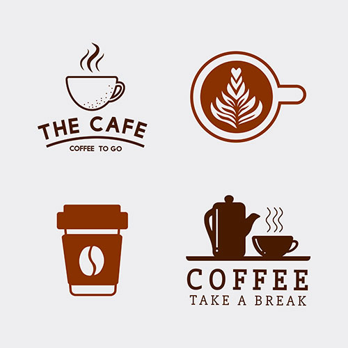 set coffee elements coffee accessories 1
