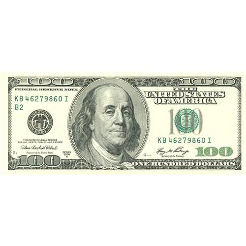 usd dollar 100 money front 1