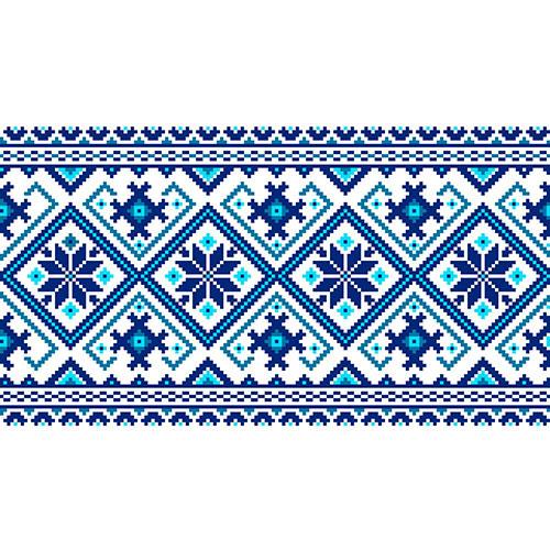 vector illustration ukrainian folk seamless pattern ornament ethnic ornament border element3 1