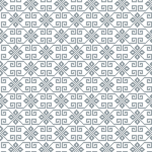 vector illustration ukrainian folk seamless pattern ornament ethnic ornament border element8 1