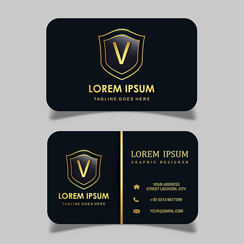 vector luxury royal visiting card 1